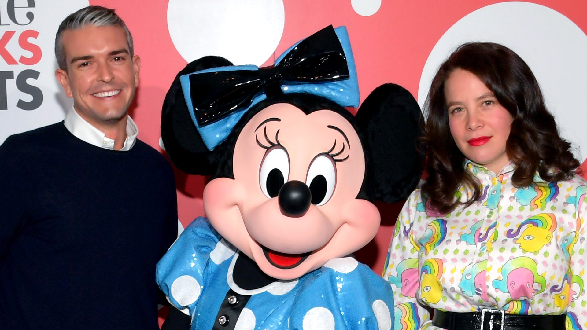 Minnie Mouse and Gray Malin Host a Rock the Dots VIP Dinner