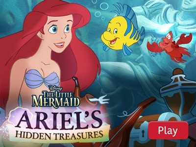 the little mermaid ariels hidden treasures