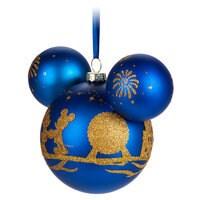 Mickey Mouse Icon Glass Ornament - Walt Disney World