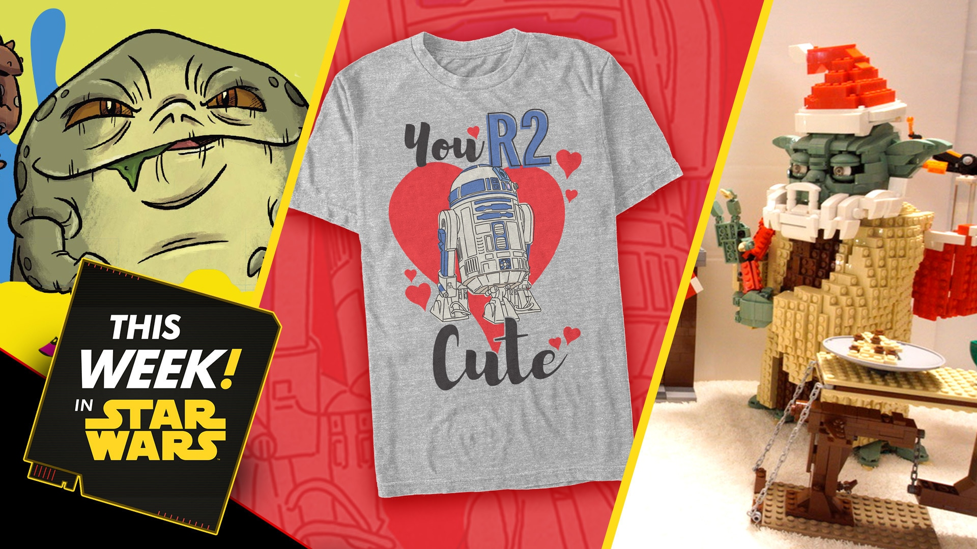 The Star Wars Book of Monsters, Ooze, and Slime Behind the Scenes, Valentine's Day Prep, and More!