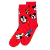 Image of Mickey Mouse ''Through the Years'' Socks for Adults # 2