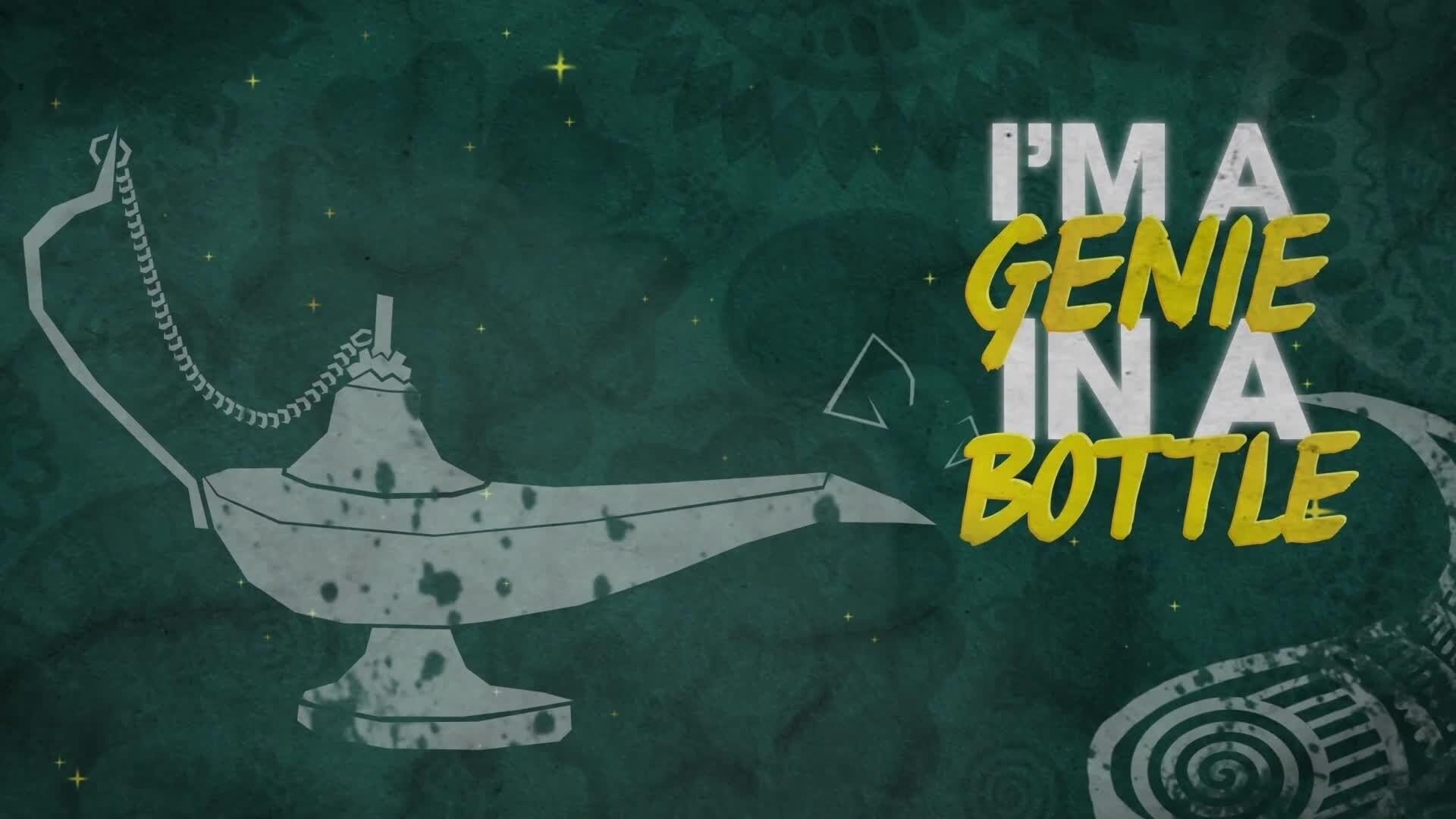 'Genie in a Bottle' Μουσικό Βίντεο με στίχους