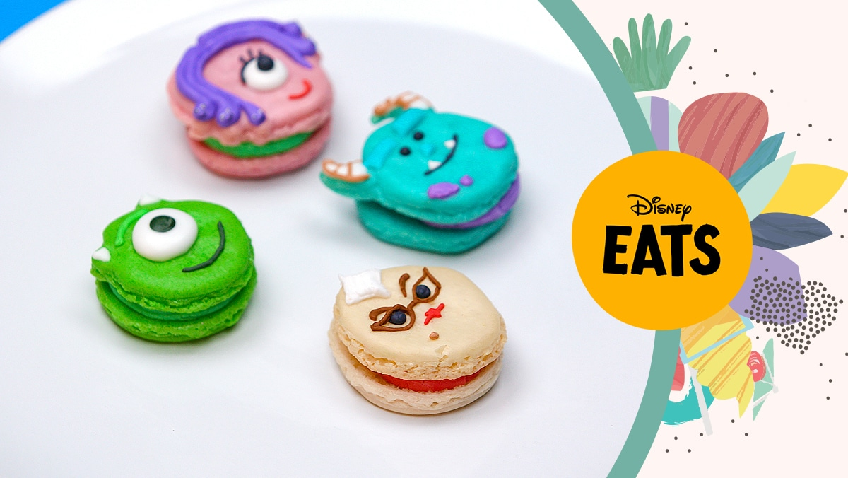 Monsters, Inc. Macarons | Disney Eats