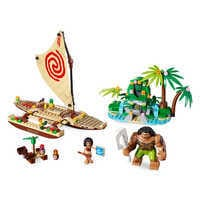 Image of Moana's Ocean Voyage Playset by LEGO # 1