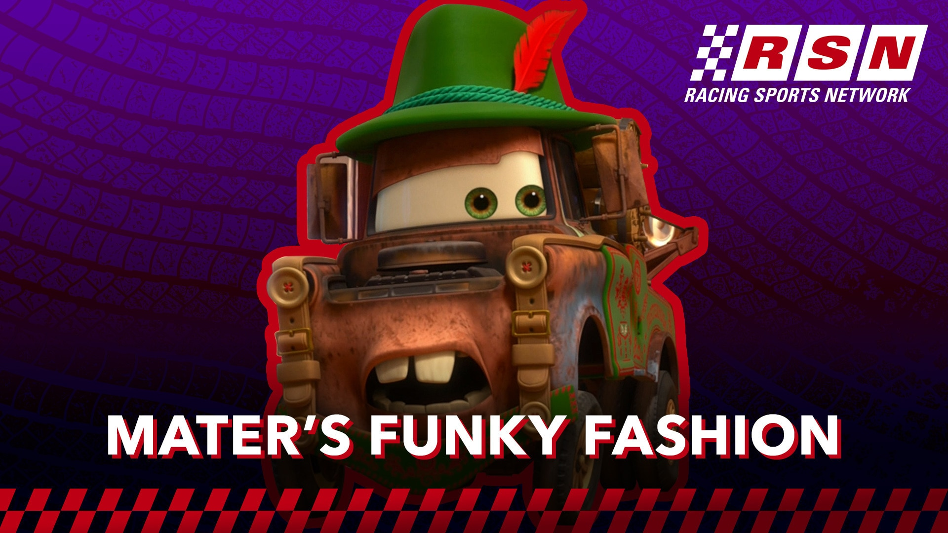 Mater's Best Moments   Racing Sports Network by Disney