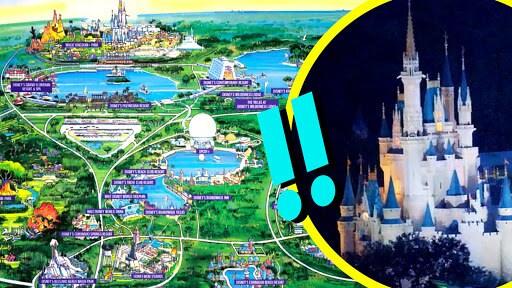 How Big Is Walt Disney World | Disney Facts | Oh My Disney