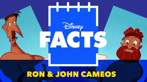 Disney Facts | Every Ron & John Cameo in Disney Films