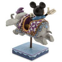 Image of Mickey Mouse and Dumbo Flying Elephants Figure by Jim Shore # 3