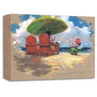 Image of Minnie Mouse ''Shorefront Hula'' Giclée by James Coleman # 1