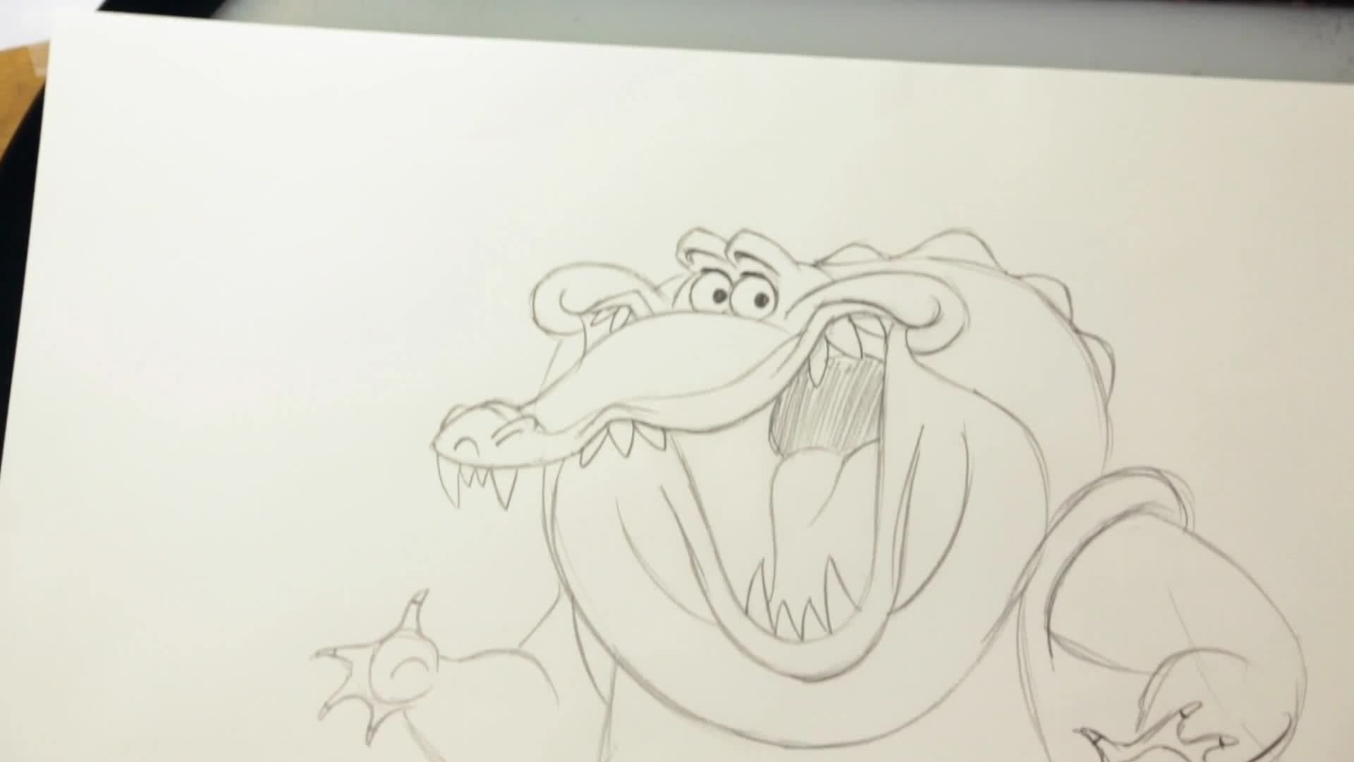How to Draw Louis from the Princess and the Frog - Disney Insider