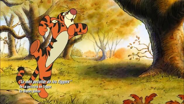 """""""Lo más peculiar de los Tiggers"""" De La película de Tigger En Disney Junior"""
