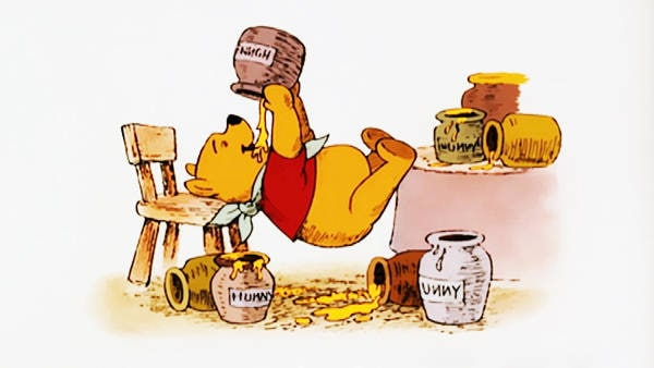 Winnie the Pooh - Stuck at Rabbit's House