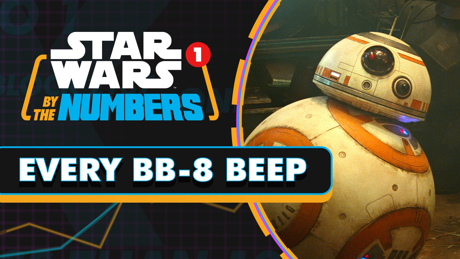 Every BB-8 Beep in the Sequel Trilogy | Star Wars By the Numbers