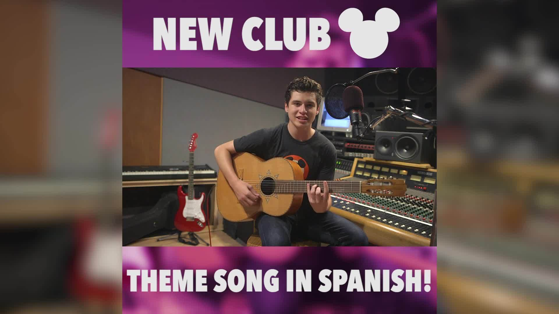 Club Mickey Mouse Theme Song in Spanish