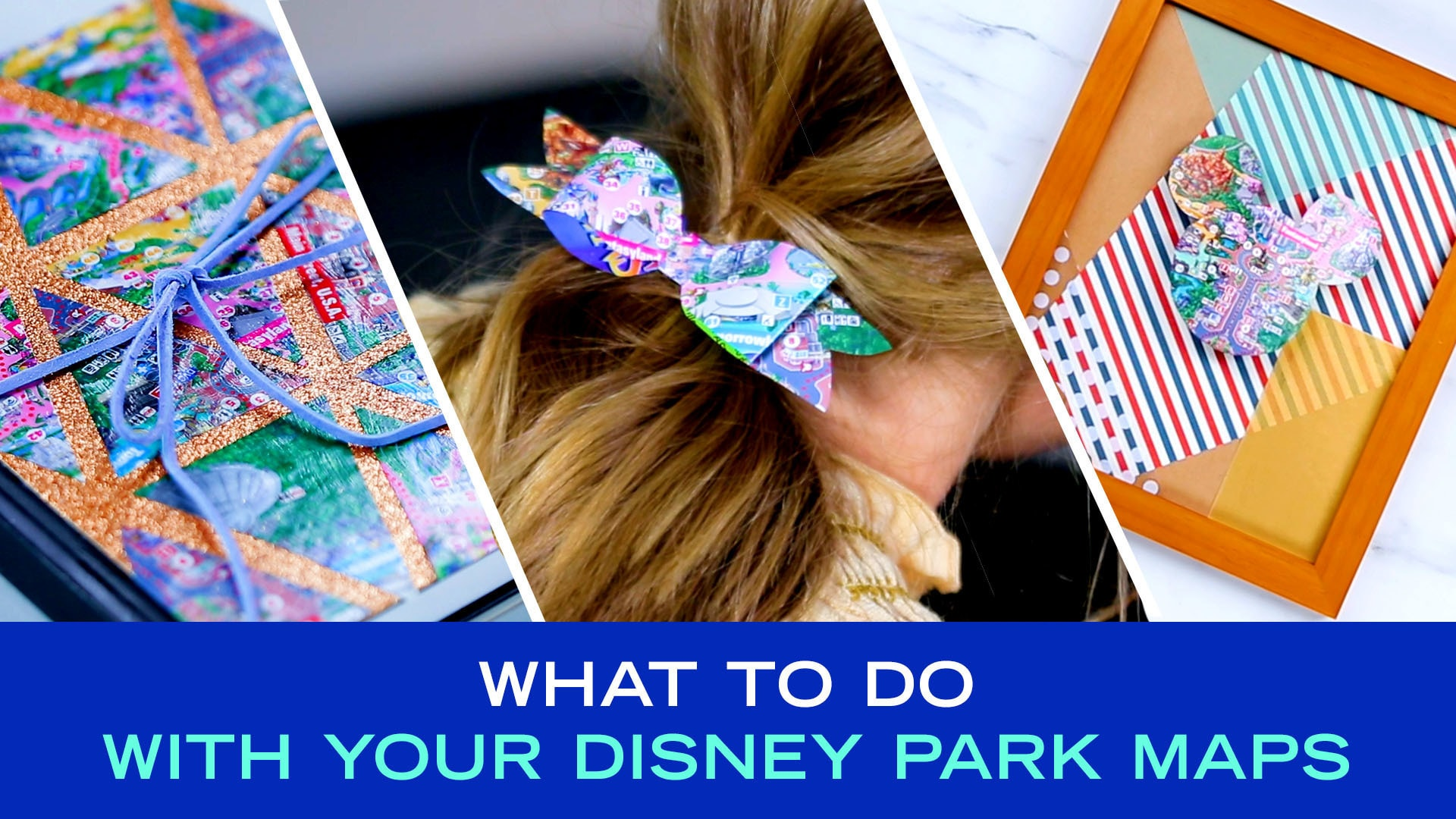 What to Do With Your Disney Park Maps | DIY by Disney Style