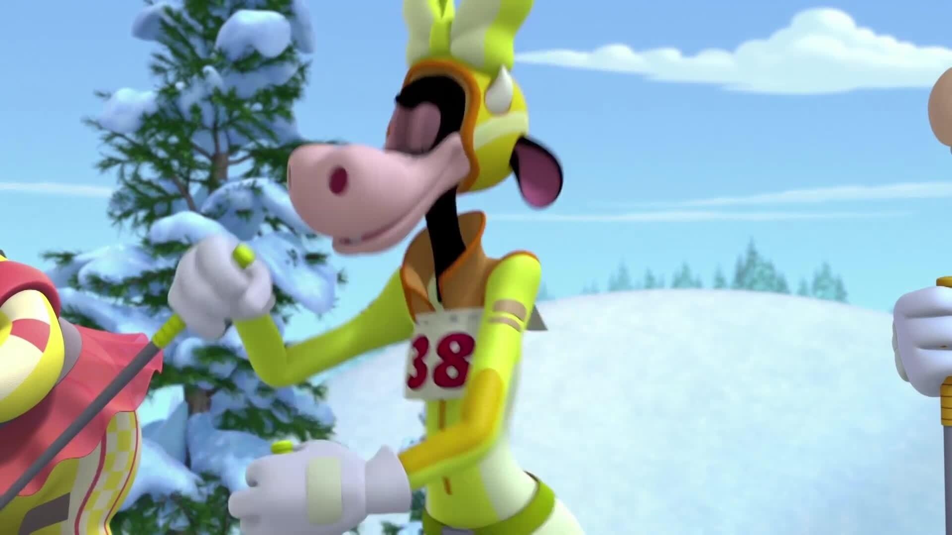 Micky und die flinken Flitzer - Der Skiausflug/Bürgermeister Karlo