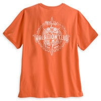 Mickey Mouse Disney Vacation Club Tee for Men - Orange
