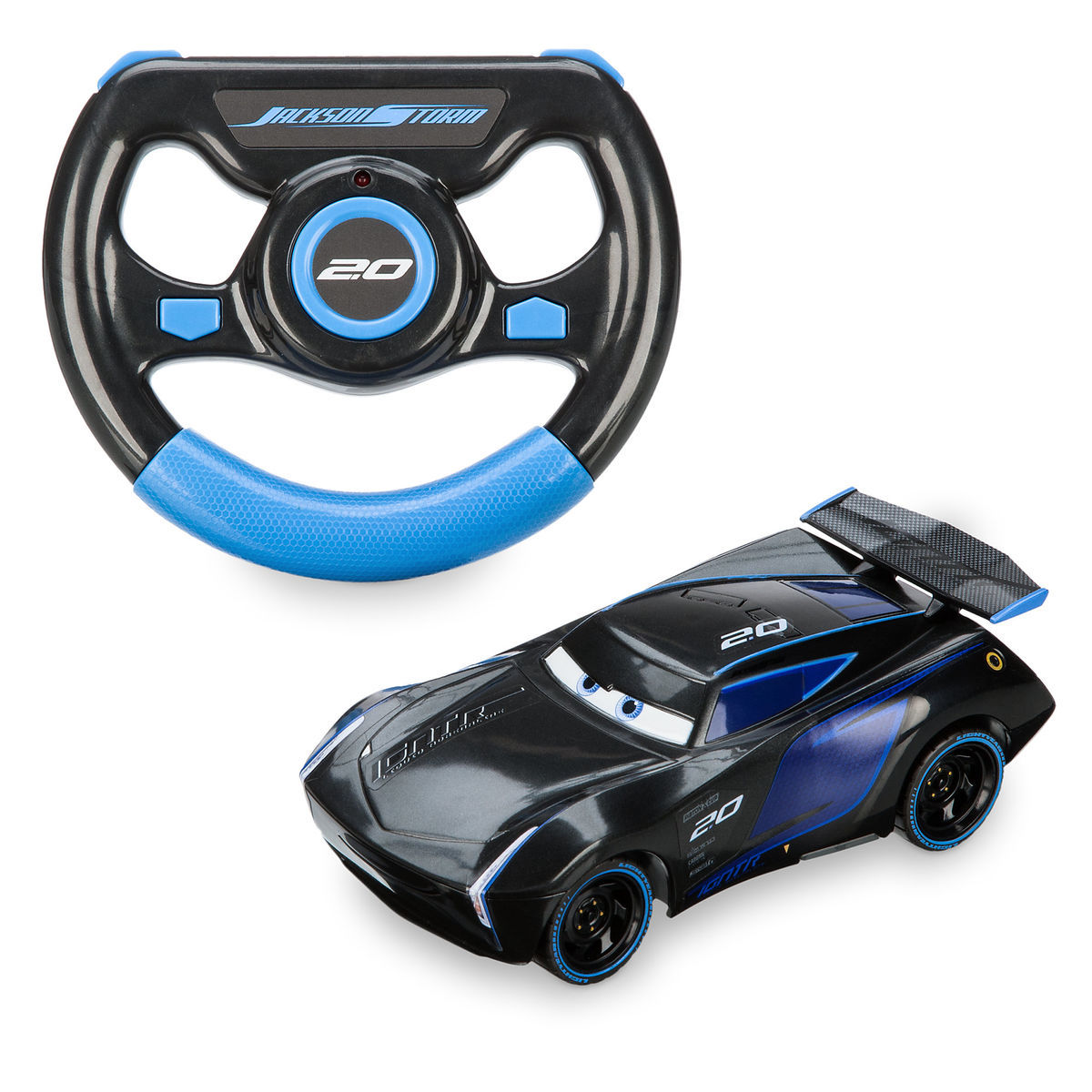 Jackson Storm Remote Control Vehicle Cars 3 Shopdisney