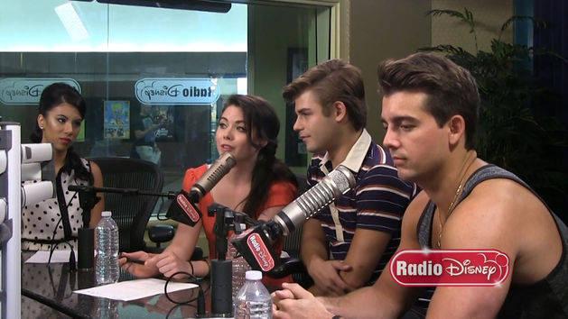 Teen Beach Movie Cast - Radio Disney Interview