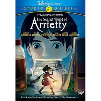 The Secret World of Arrietty DVD