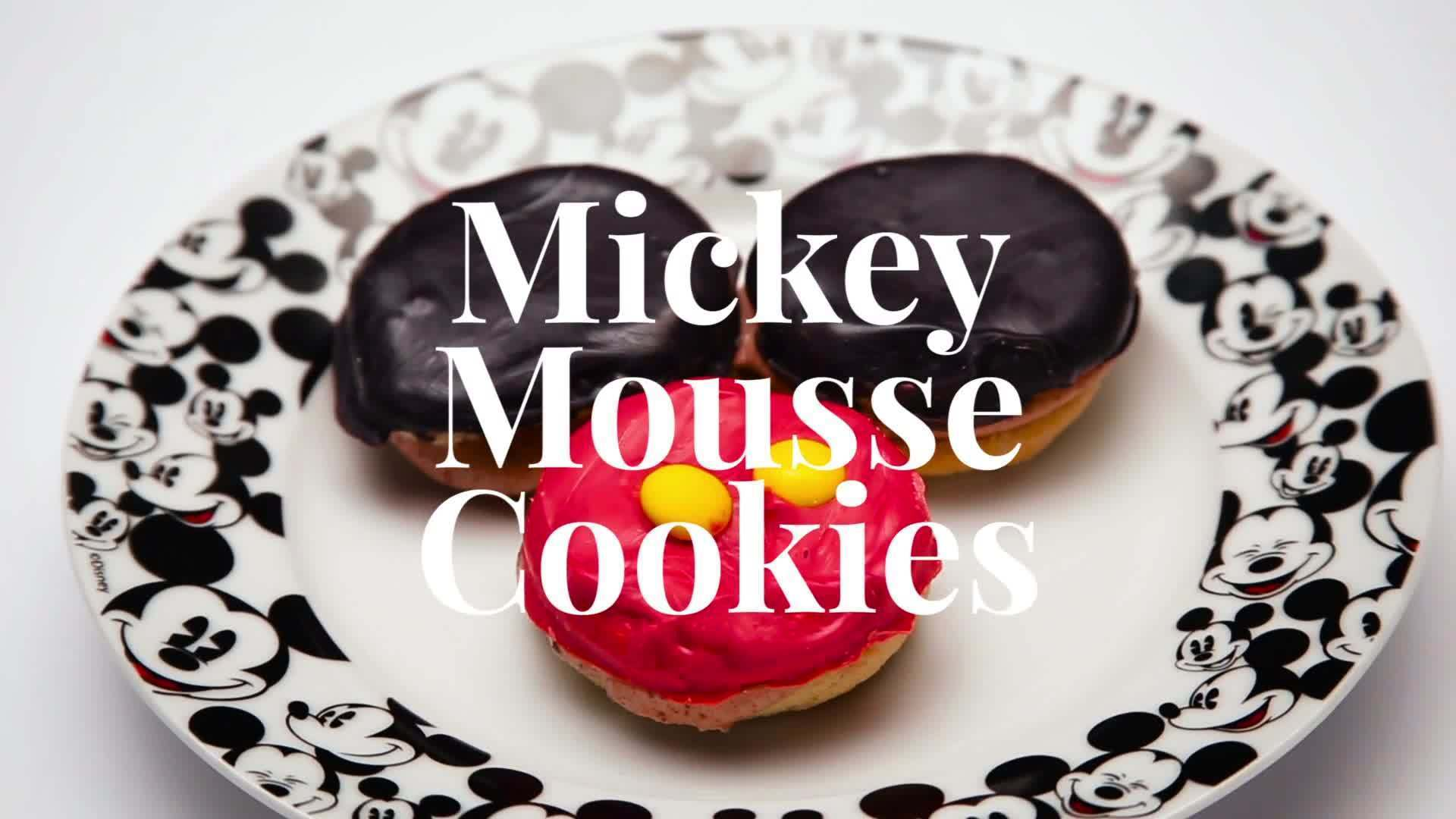 Mickey Mousse Cookie | Dishes by Disney