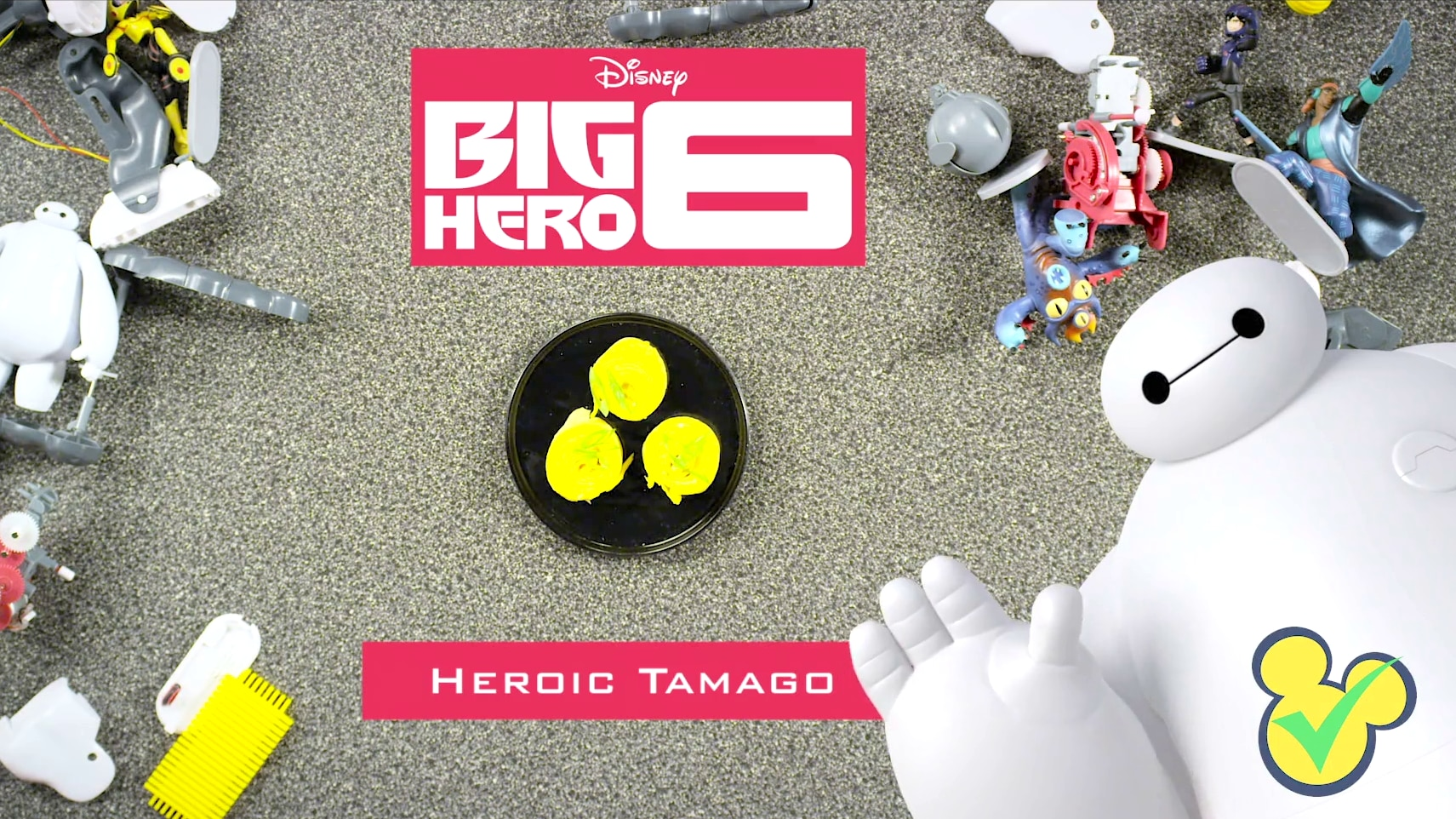 Big Hero Six - Heroic Tamago | Dishes By Disney