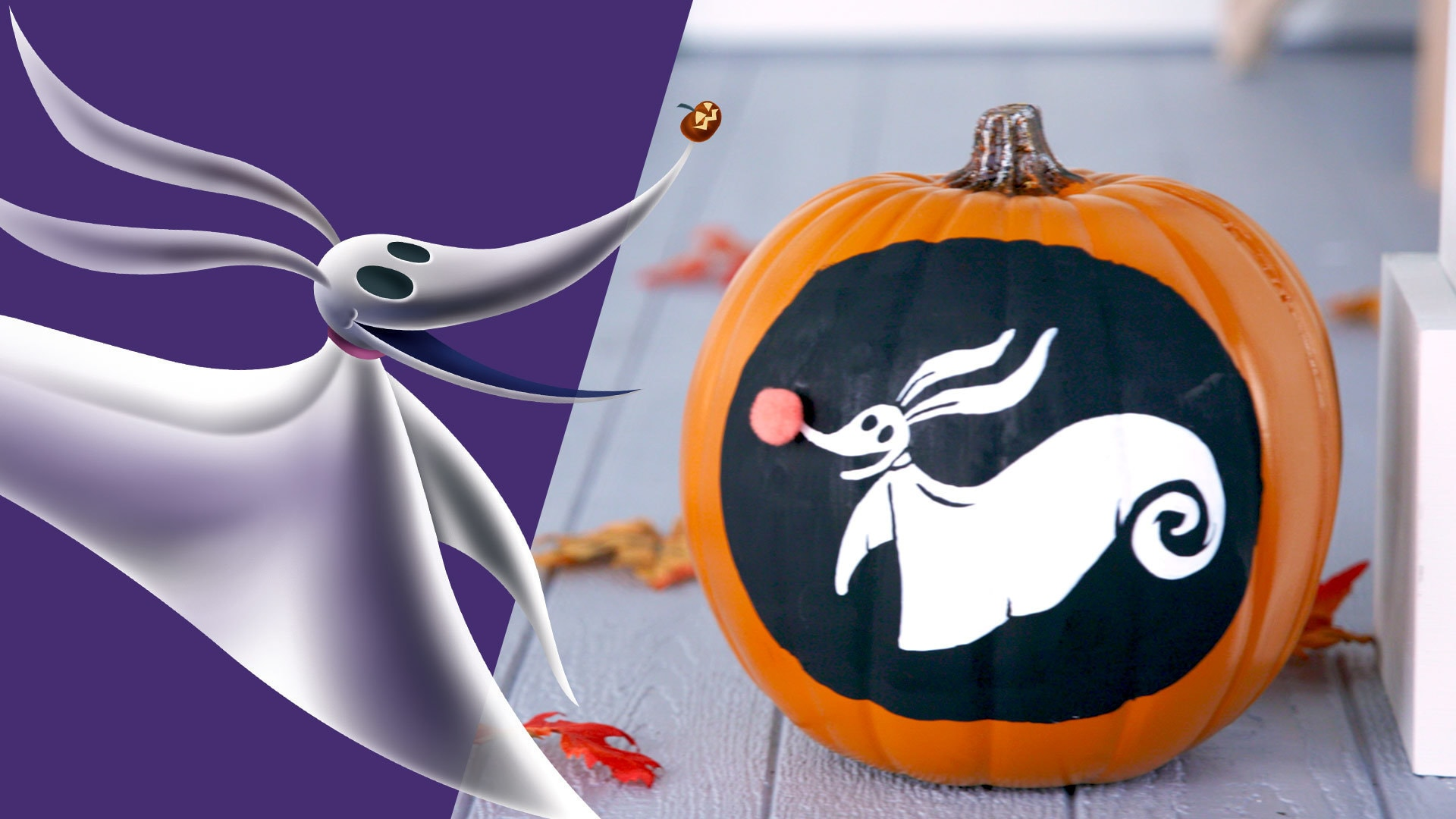 Zero Pumpkin | Disney DIY by Disney Family