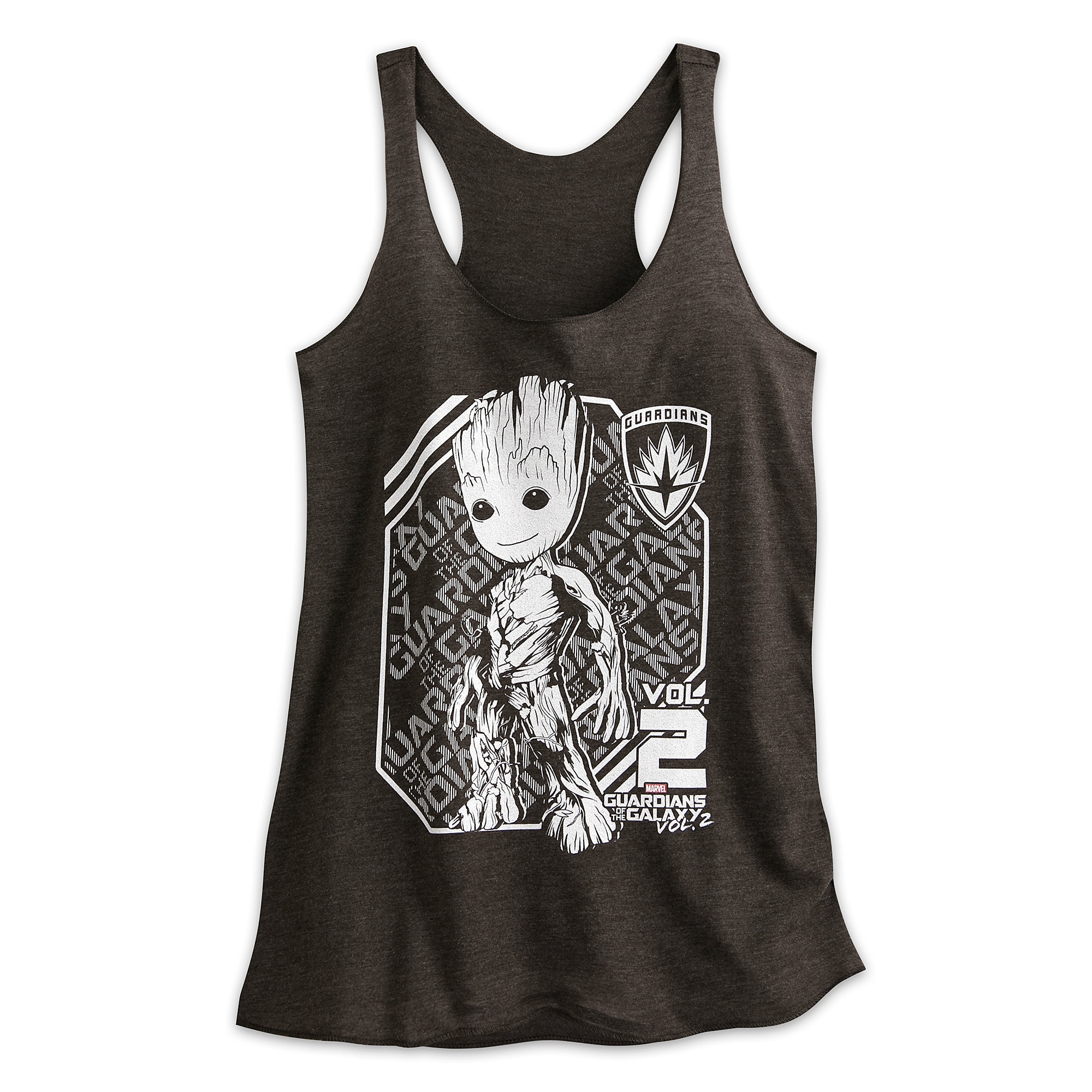 96a827481c42a Groot Heathered Tank Tee for Women - Guardians of the Galaxy Vol. 2 ...