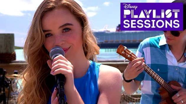 Dream a Little Dream | Sabrina Carpenter | Disney Playlist Sessions