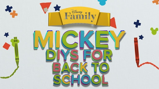 Mickey Mouse DIYs for Back to School | Disney DIY by Disney Family