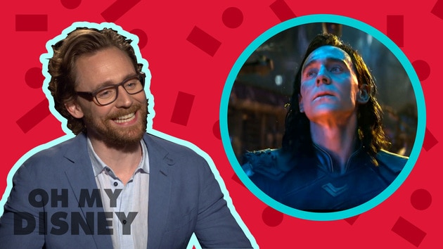 Tom Hiddleston Answers All of Our Questions About Loki | Oh My Disney Show by Oh My Disney