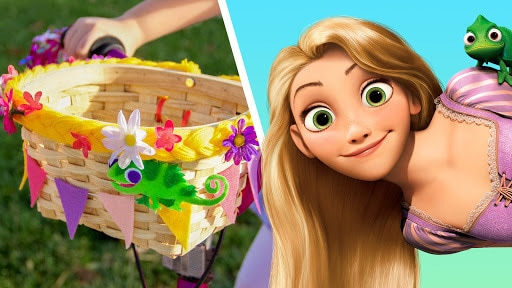Tangled Bike Basket | DisneyWeekend