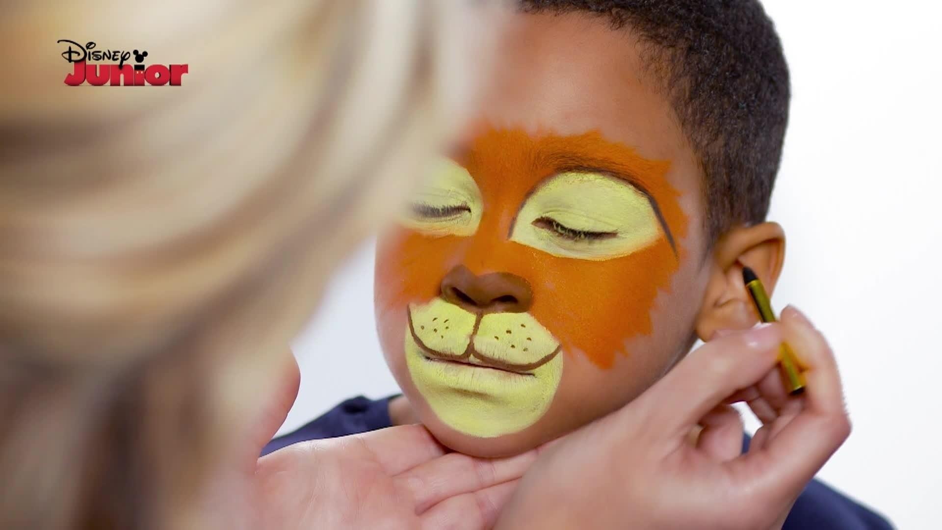Pintura facial: Kion