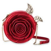 Image of Beauty and the Beast Enchanted Rose Crossbody Bag by Danielle Nicole # 1