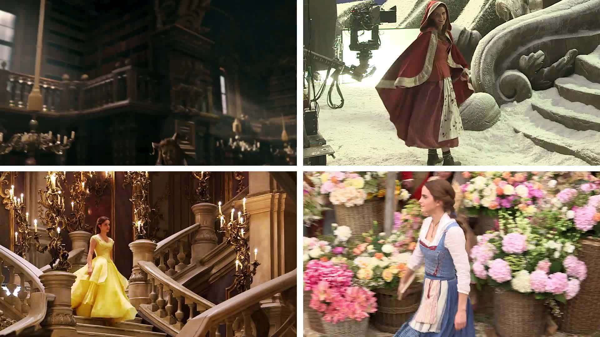 Behind The Scenes of Belle's Costumes from Beauty and the Beast