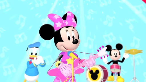 Pop Star Minnie - Clubhouse Rocks | Mickey Mouse Clubhouse