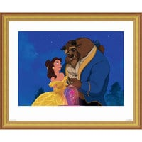 ''Beauty and the Beast Dancing'' Giclé