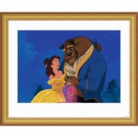 Image of ''Beauty and the Beast Dancing'' Giclé # 3