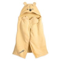 Image of Winnie the Pooh Hooded Towel for Baby - Personalizable # 1