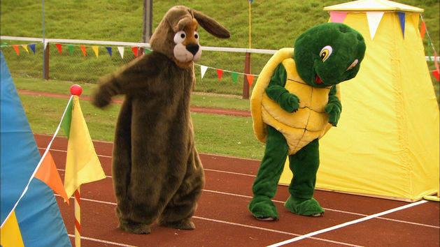 Turtle Amp Hare Race Disney Video
