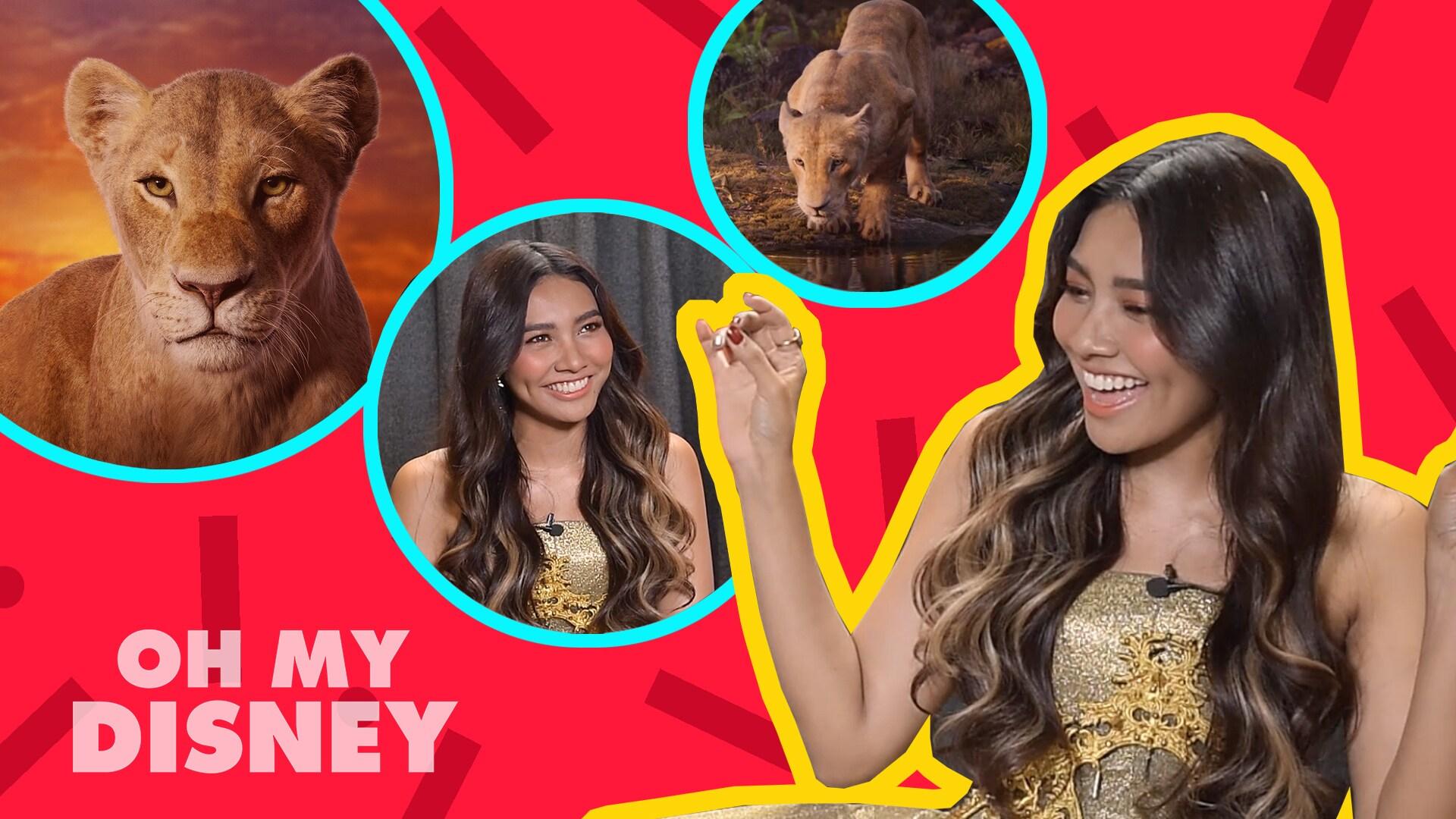 Disney Session - แก้ม วิชญาณี จาก Disney's The Lion King