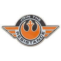 Image of Rebel Alliance Starbird Pin - Star Wars: The Force Awakens # 1