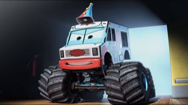 Mate, Monster Truck - Cars Toon