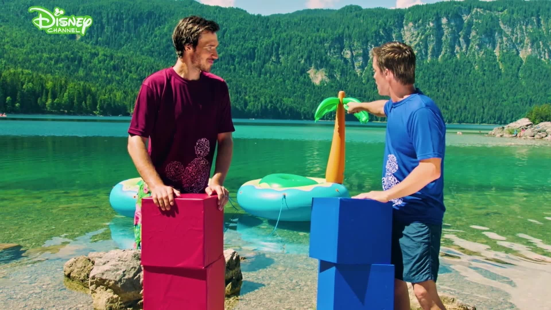 Disney Channel Sommerspiele - Wackelinsel