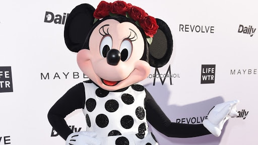 Minnie Mouse at the Fashion LA Awards