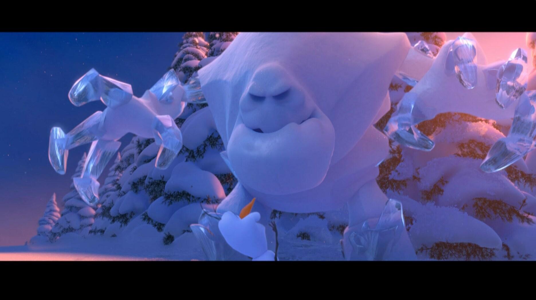 Como sair bem de uma situação constrangedora – Olaf dá risada