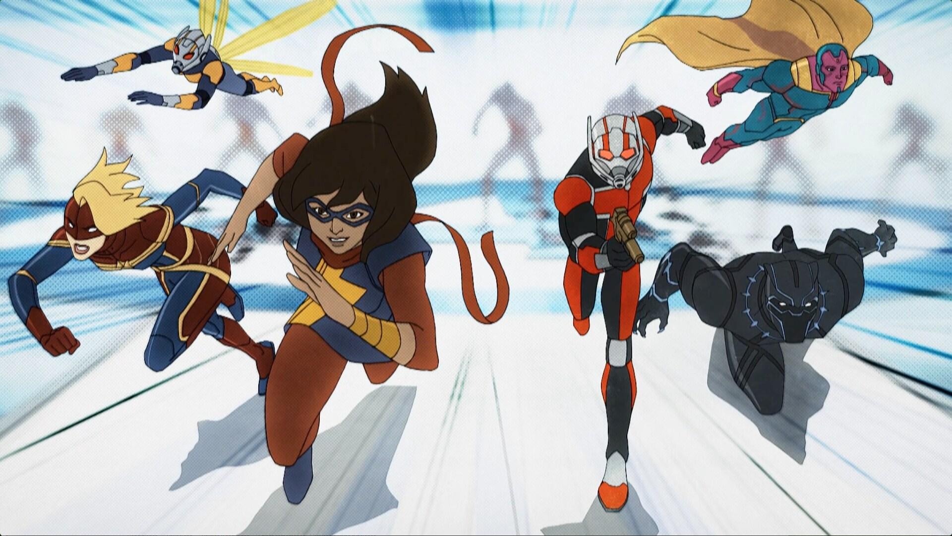 Ms. Marvel - Los Vengadores de Marvel: Guerras secretas