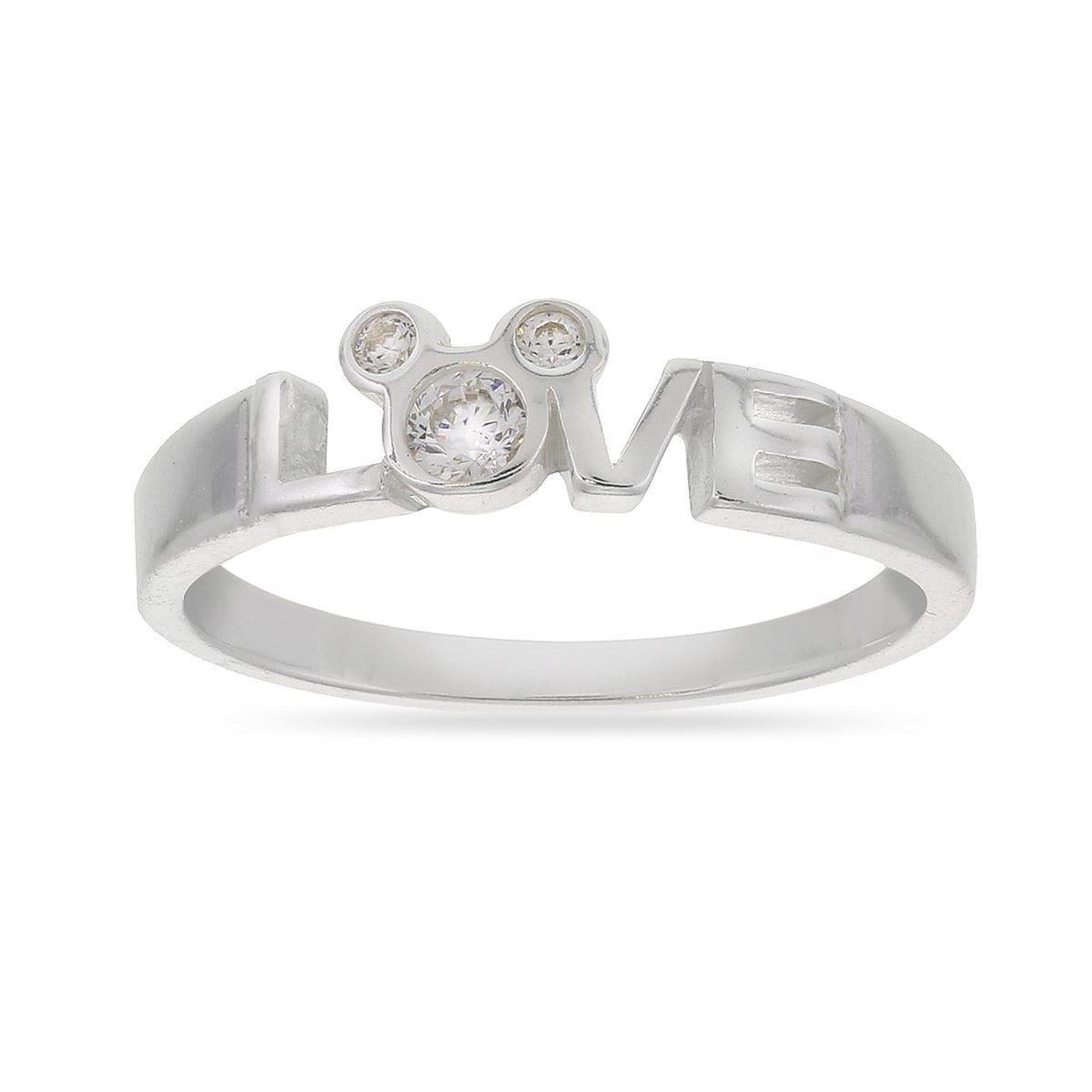 Mickey Mouse Love Ring | shopDisney