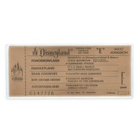 The Haunted Mansion Replica Antiqued Copper E Ticket - Limited Edition