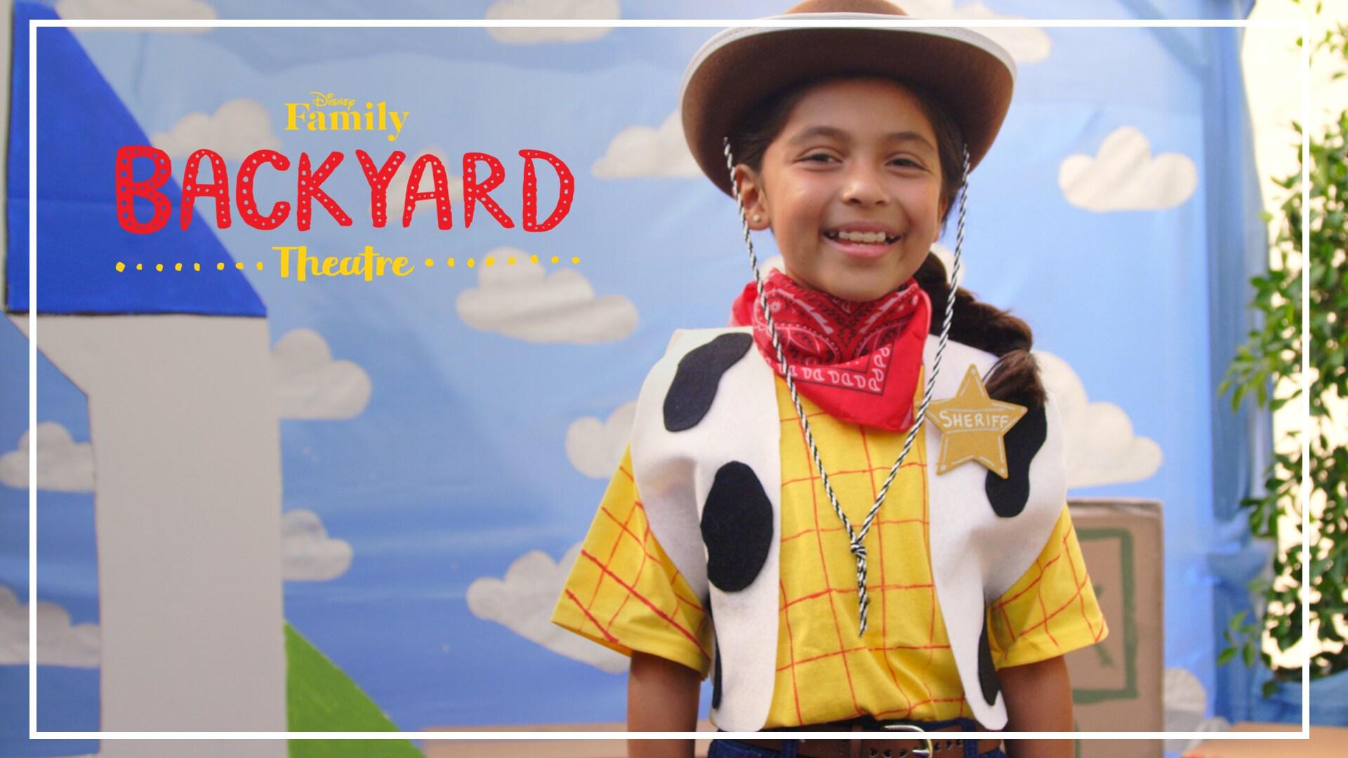 Backyard Theatre: Woody Costume DIY | Disney Family